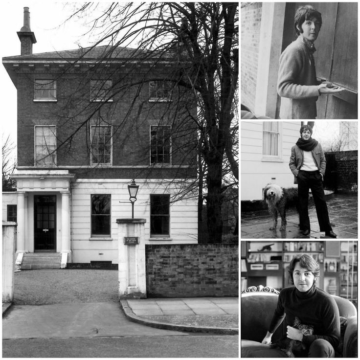 paul mccartney bought his first london home on this day. Black Bedroom Furniture Sets. Home Design Ideas