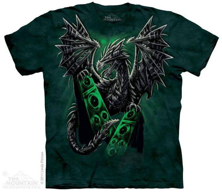 PRIKID - Electric Dragon T-Shirt, €37.00 (https://prikid.eu/electric-dragon-t-shirt/)