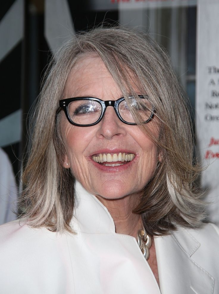 Diane Keaton - great natural style
