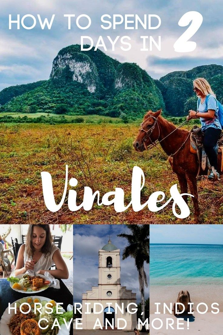 Planning a trip to Cuba? You can't miss visiting the valley of Viñales, where you can go horse riding in the tobacco plantations and learn how they roll cigars. Find the best things to do, see and how to spend 2 days in Viñales.