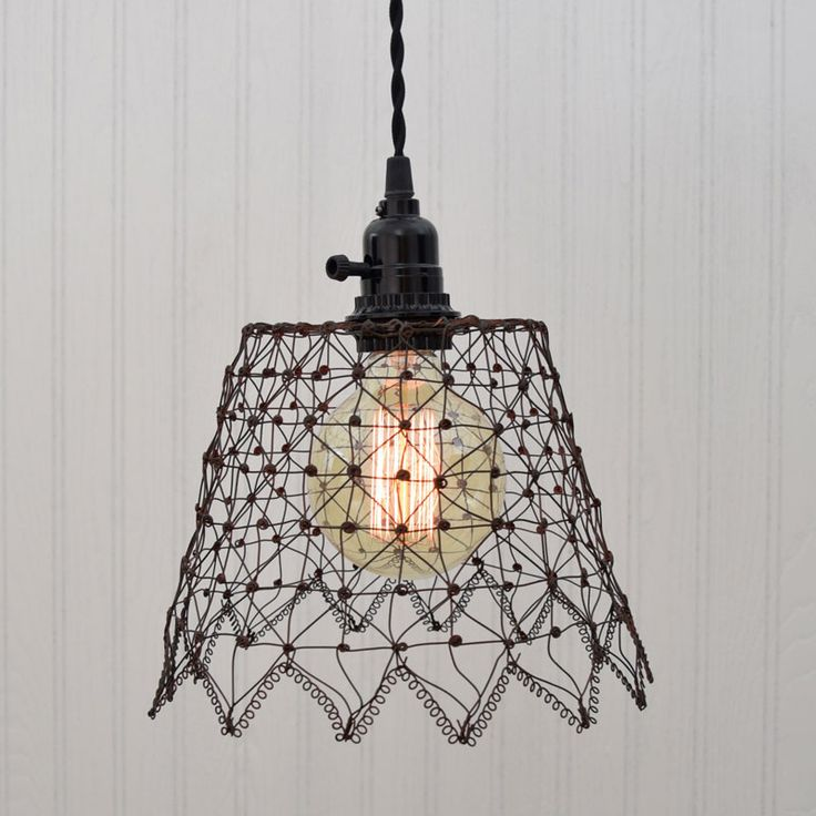 Comfortable Decorating With Wire Pendant Lights Pictures