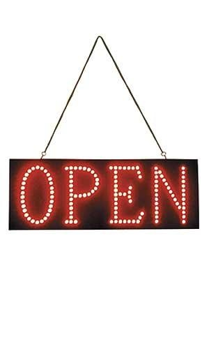 Horizontal Ultra-Brite LED Open Sign