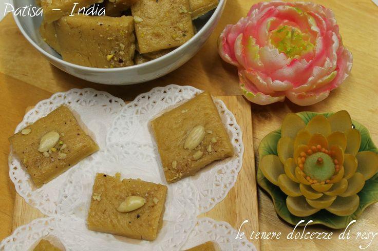 Patisa o Soan papdi - il dolce del Diwali indiano