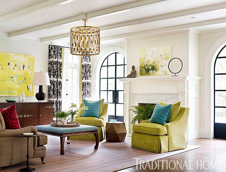 living room | Katie Rosenfeld Design