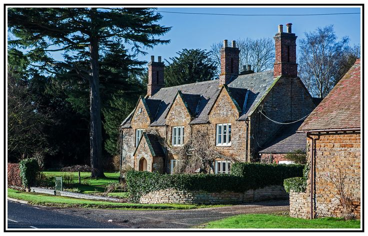 An Attractive House in the Country - Long Buckby, Northamptonshire, England.