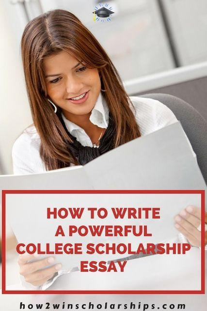 How to write a powerful college scholarship essay! Don't miss these winning tips!