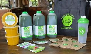 Three-Day Juice Cleanse for One or Two with Free Delivery from Chef V (Up to 55% Off)