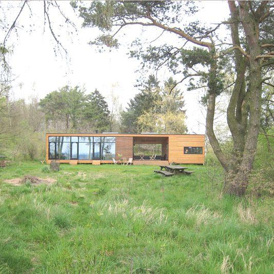 Onv prefab Danish Dogtrot House Home Design Ideas