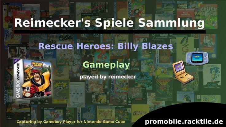 Gameplay : Rescue Heroes: Billy Blazes [Gameboy Advance]
