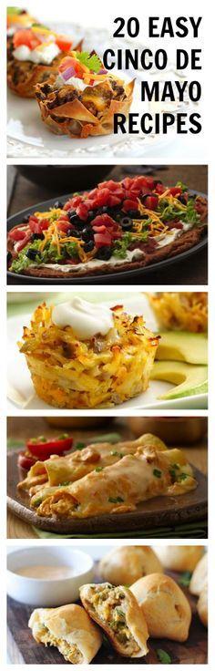 20 Easy Recipes for Cinco de Mayo