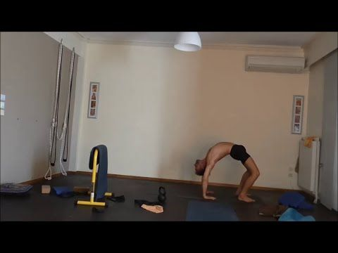 Working on the difficulties of Ashtanga Vinyasa Second Series