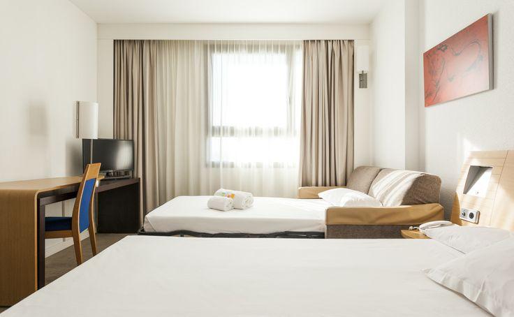 Habitación con wifi gratis en nuestro hotel en  valencia. www.confortelvalencia.com