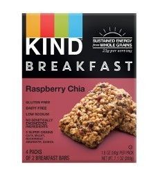 KInd Breakfast bars Raspberry Chia 1.8 oz 32 bars/case #GlutenFree #TransFatFree #12gLeanSoyProteinPer34GramServing #4gFiberPer34GramServing #ManageYourWeightWithoutGivingUpTaste #BasedONLowGlycemicIndex #WhatAreYouFreeFrom? Purchase: https://savorfull.com/product/kind-breakfast-bars-raspberry-chia-1-8-oz-32-barscase/