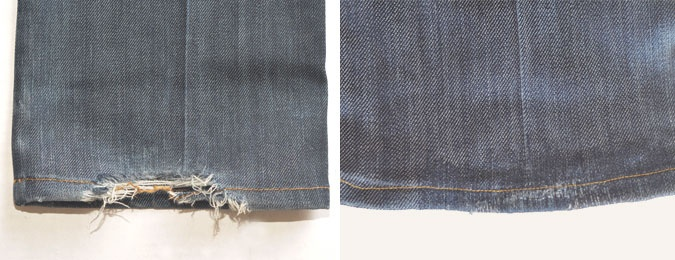 Denim Therapy. Replace holes, fixes, etc. in your favorite jeans! Killer resource to have!: Fashion Textiles, Jeans Hemmings, Repair Jeans, Jeans Complete, Denim Repair, Jeans Could V, Fav Jeans, Favorite Jeans, Guys
