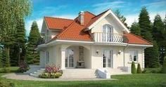 Plano de hermosa casa clásica de 3 dormitorios y 2 pisos