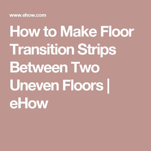 Transition Wood Floor To Tile Ideas: 1000+ Ideas About Transition Flooring On Pinterest