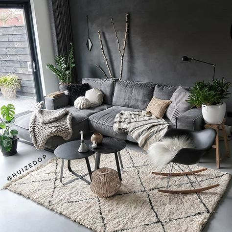 Scandinavian Minimalism In Grey And White. Neutral…