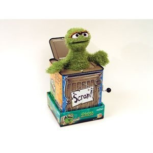 Sesame Street Oscar the Grouch Jack-in-the-Box  sc 1 st  Pinterest & 22 best Jack in the Box Toys images on Pinterest | Jack in the box ... Aboutintivar.Com