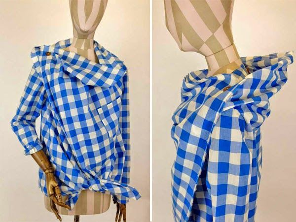 KoloDIY: Рубашка Вивьен Вествуд своими руками