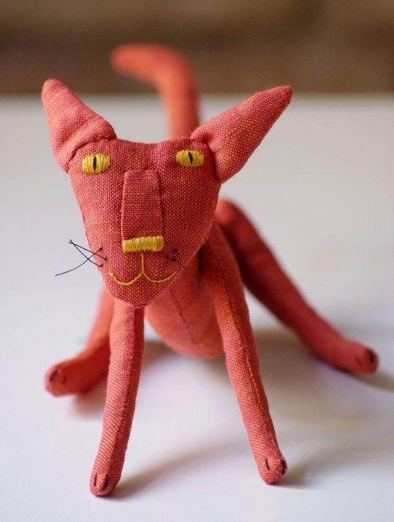 Citrus. The orange cat. от adatine на Etsy