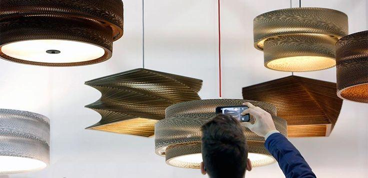 Lámparas de cartón: ecodiseño lumínico - España Fascinante