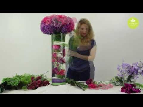 Inspired Floral Design with Beth O'Reilly: Submerged Arrangement - YouTube