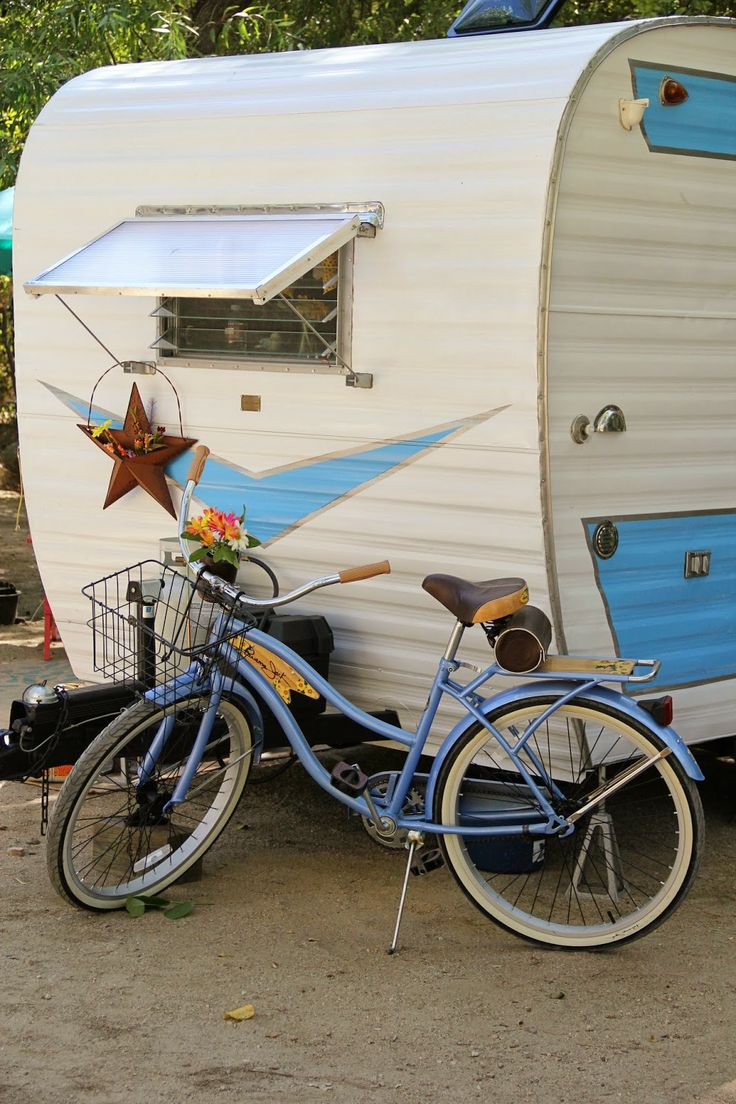 Bike Camper Trailer 1154 Best Happy Campers Images On Pinterest Vintage Campers