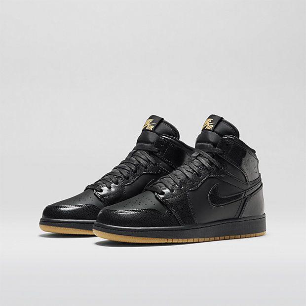 Air Jordan 1 Retro High OG - Black/Gum Light Brown/Black