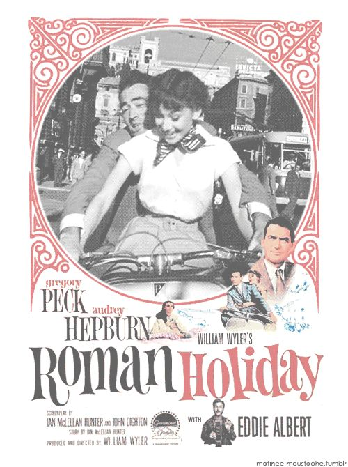 GIF Roman Holiday Movie Poster