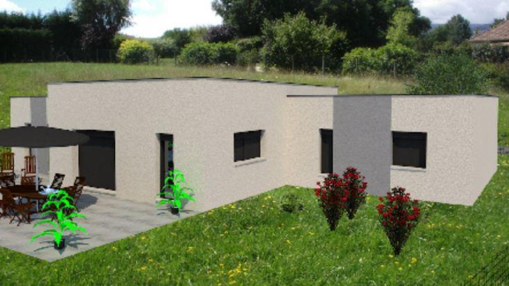 Maisons plain pied 4 chambres de 138 m² construite par Demeures Familiales