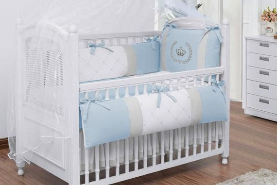 Baby Crib Sets Bedding, Crown Baby Crib Bedding