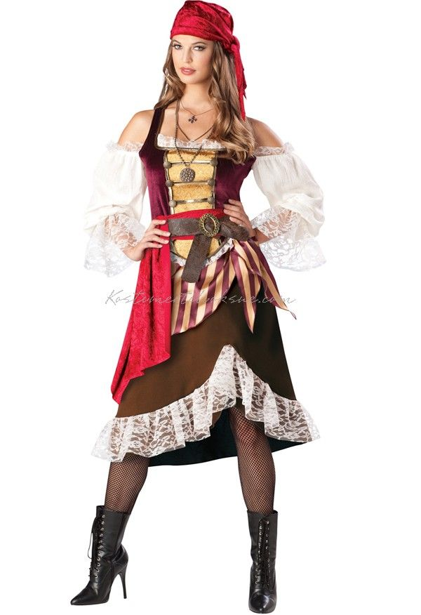 Deluxe Deckhand Darlin Pirat Kostumer Til Sidste Skoledag