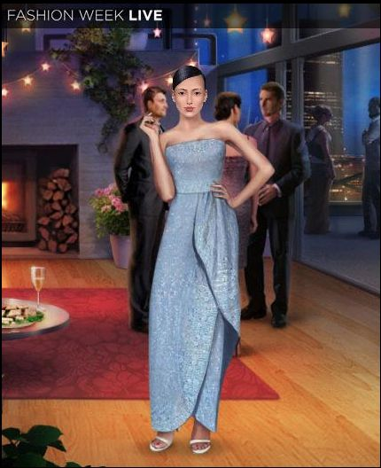 We just love this new Crystal Blue Gown! Where would you wear this beauty?