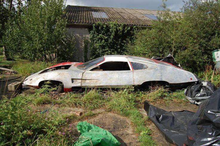 Ed Straker's car from UFO TV show in 2011 transportation