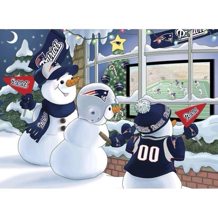 Merry Christmas from the New England Patriots :)