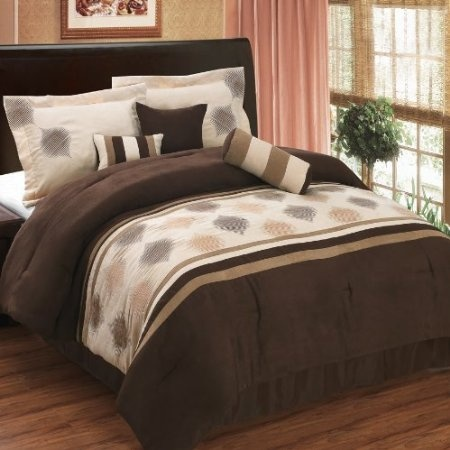 11 pc queen size grace coffee bed in a bag including comforter set and a sheet set find out more about the great product at the image link