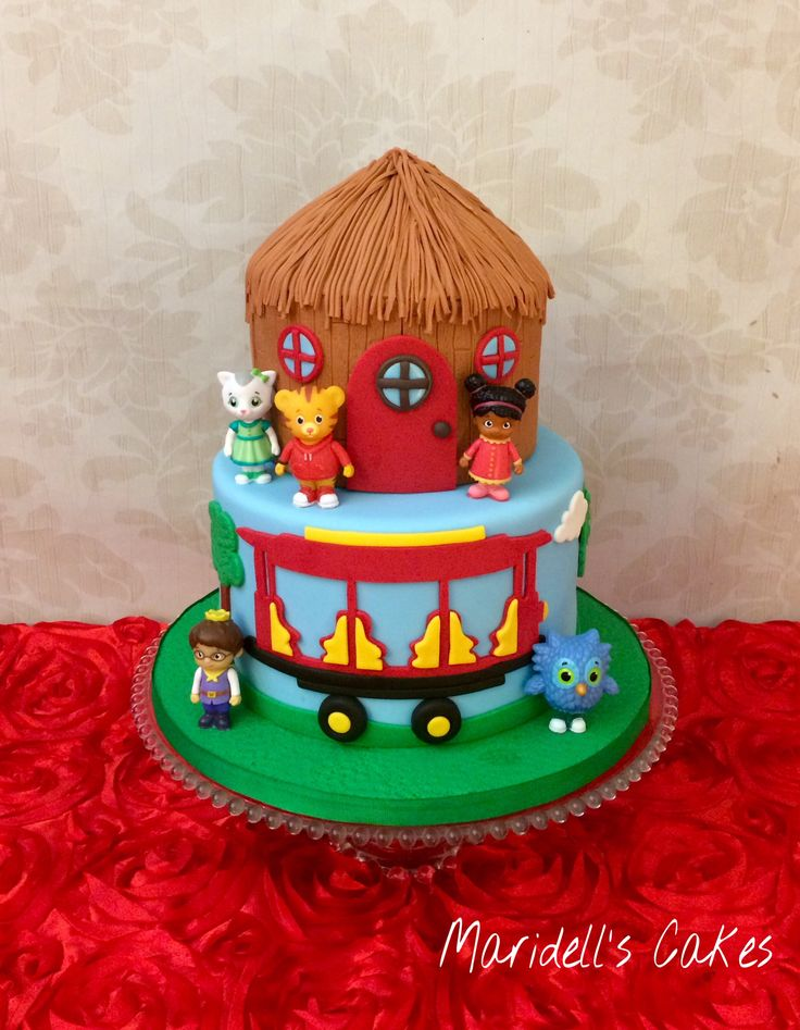Daniel The Tiger Birthday Cake