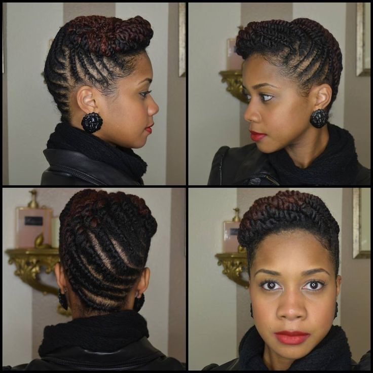 Two Strain Twist Updo Two Strand Twists Updos Amp Braids