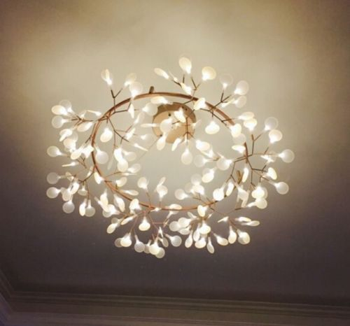 Moooi-Heracleum-Plant-II-109cm-43-Big-O-Round-LED-Chandelier-Lamp-Light-Modern