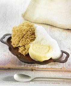 Esponja y jabón de almendra y café | Delicooks | Good Food Good Life