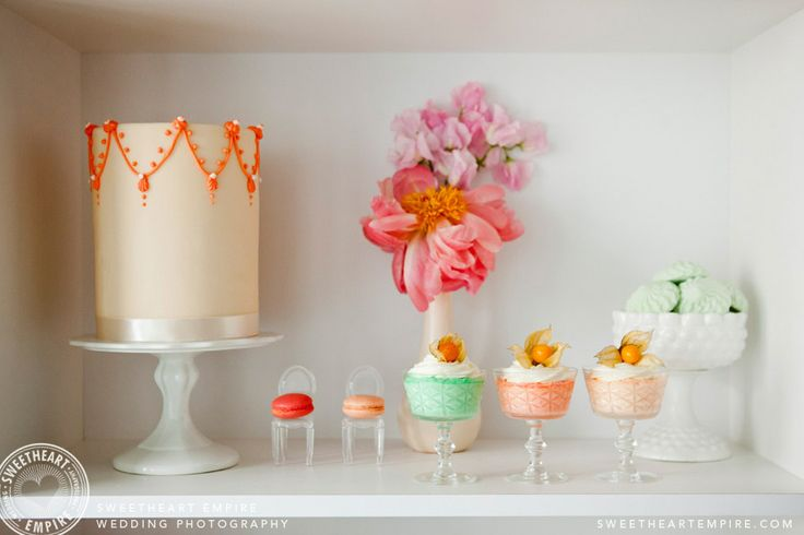 Sweet dessert table ideas - Petite  Sweet Bakery, Toronto  Sweetheart Empire » Special Event Photographer