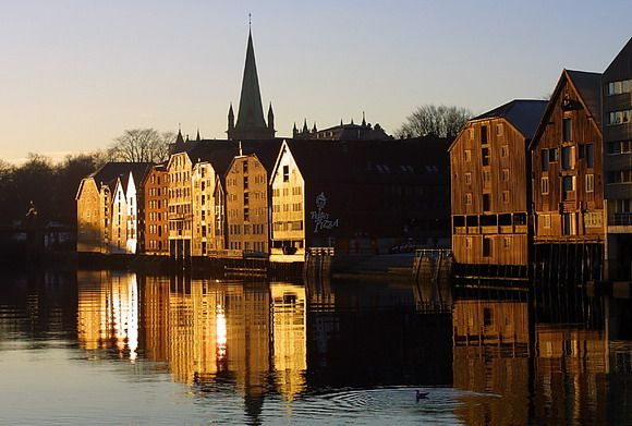 After a five hour journey we arrived in the charming city of Trondheim. We would make the last leg of the journey into Sweden by land.