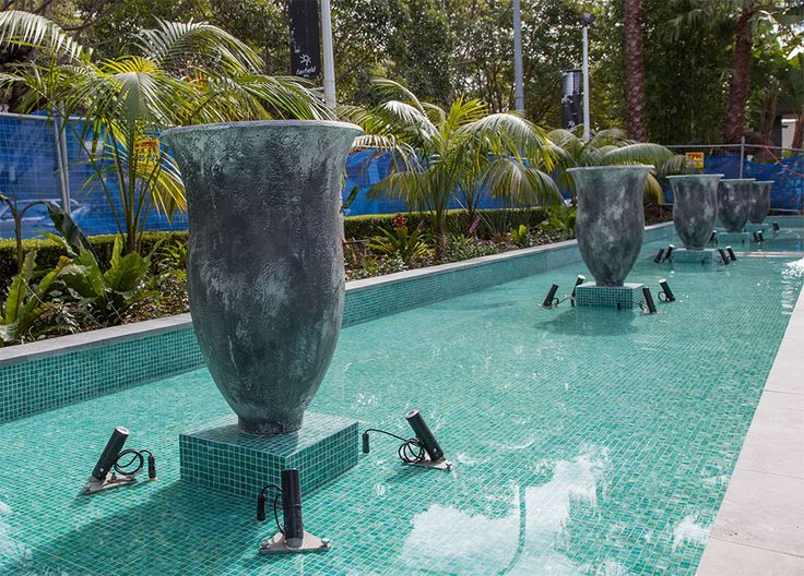 Custom produced water features + sculptures for you design projects