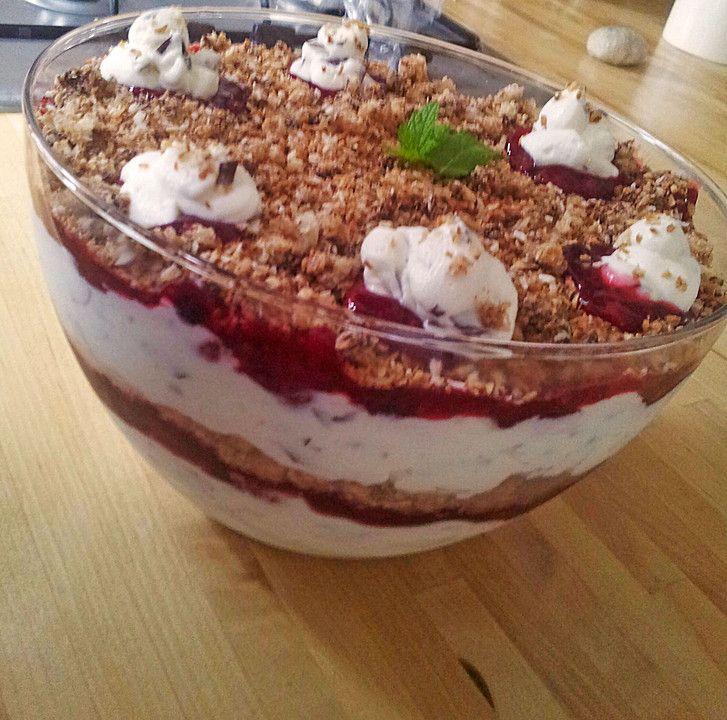 Schokokuss - Schichtspeise, ein beliebtes Rezept aus der Kategorie Dessert. Bewertungen: 8. Durchschnitt: Ø 4,3.