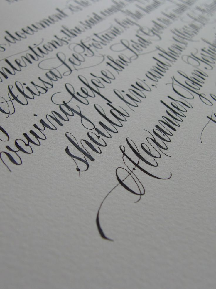 25 best ideas about copperplate calligraphy on pinterest Learn calligraphy letters