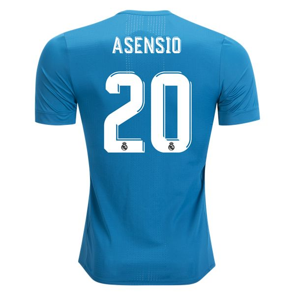 adidas Marco Asensio Real Madrid Authentic Third Jersey 17/18