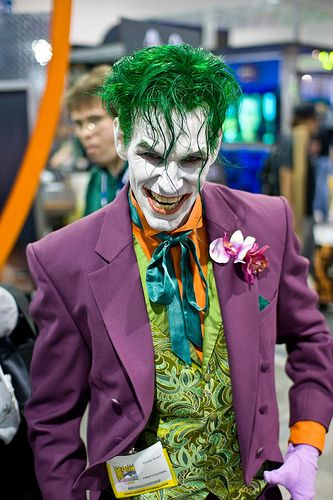 The #Joker <<<< Great #cosplay! #FanX is coming April 2014! saltlakecomiccon.com for details! >>>>