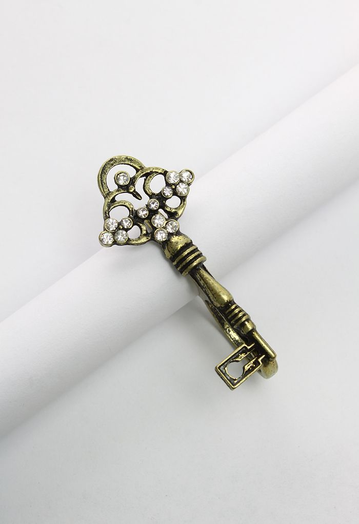 Double Key Finger Ring