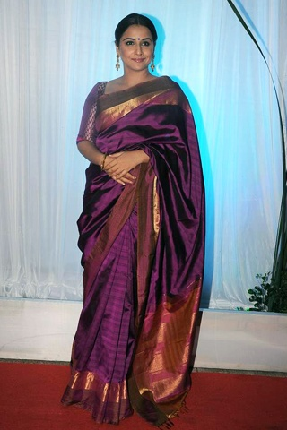 Vidya Balan at the Esha Deol-Bharat Takhtani Reception