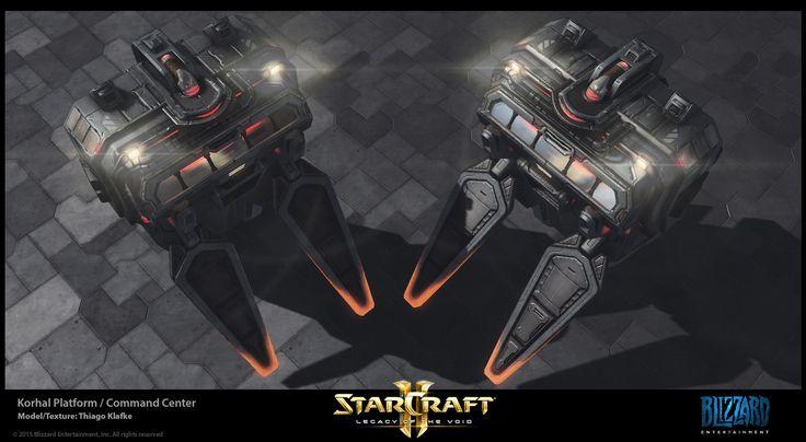 Starcraft II Legacy of the Void - Terran Environment Art, Thiago Klafke on ArtStation at https://www.artstation.com/artwork/vz68x